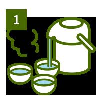 おいしい煎茶の淹れ方1